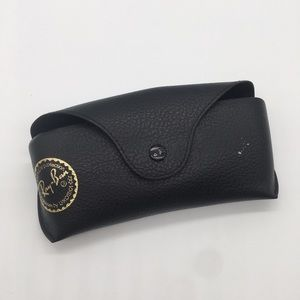 4/$25 Rayban black leather protective glasses case